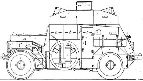 Daimler DZVR 1921