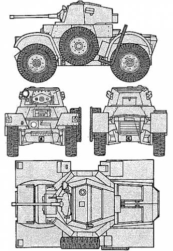 Daimler Mk.II Armoured Car