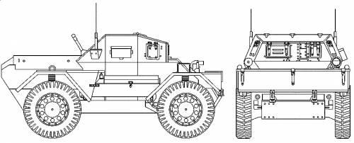 Daimler Mk.II Scout Car