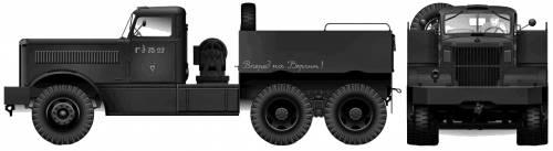 Diamond T-980 6x4 Truck Tractor (1942)