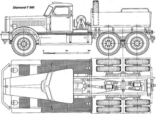 Diamond T 980 M19 Tank Transporter