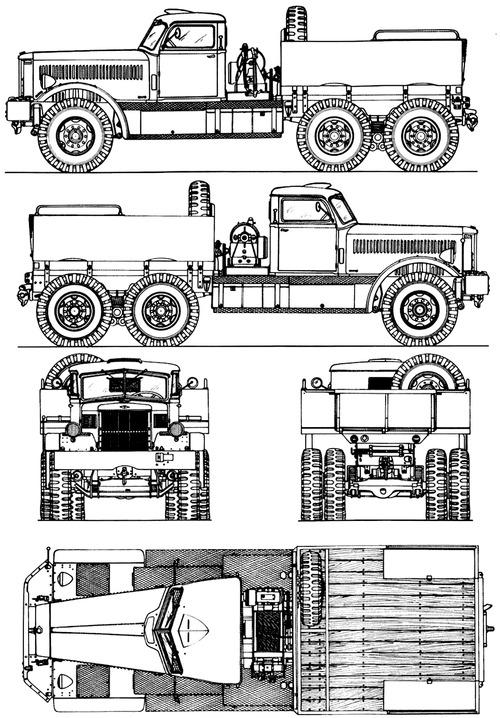 Diamond T M20 (981)