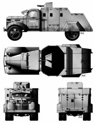 Dodge Armoured Car