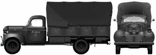 Dodge T-110 L-5 D60L,3-ton 4x2 (1942)