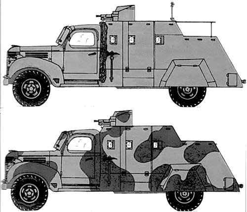 Dodge T-110 L-9 4x2 (1941)
