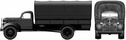 Dodge T-203B 1.5-ton 4x4 (1940)