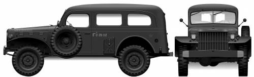 Dodge WC53 0.75-ton 4x4 Carryall (1942)