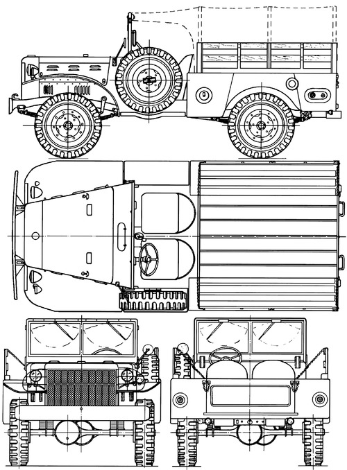 Dodge WC-51 0.75 ton 4x4 Weapons Carrier