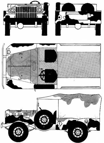 Dodge WC-51 1.75ton