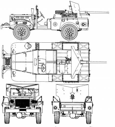 Dodge WC-51 + GMC M6 37mm