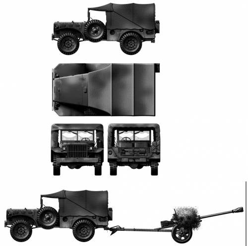 Dodge WC-51 Weapon Carrier 4x4