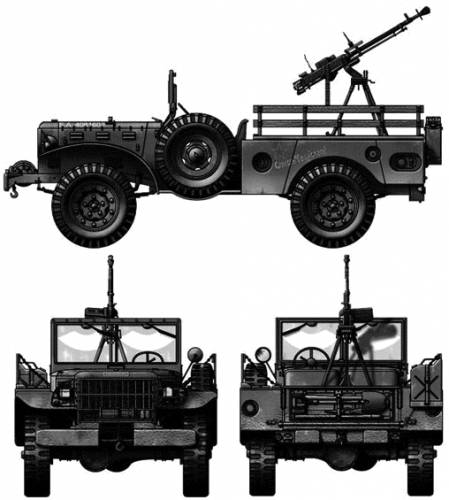 Dodge WC-52 Weapon Carrier 4x4