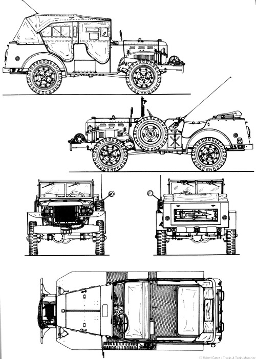 Dodge WC-57 0.75 ton 4x4 Command Car