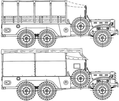 Dodge WC-62 1.5-ton 6x6