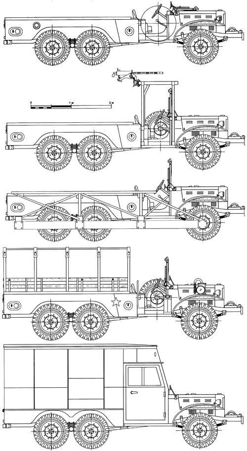 Dodge WC-63 1.5-ton 6x6 T223