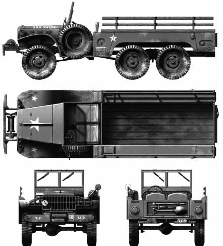 Dodge WC-63 6x6
