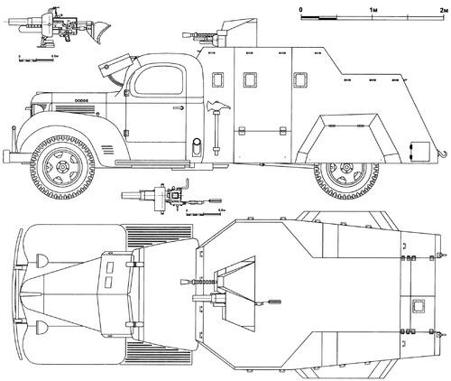 Dodge WF-32 1.5 ton 4x2