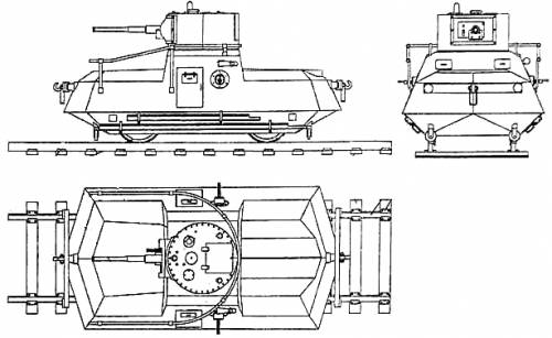 DT-45 Railroad SPG