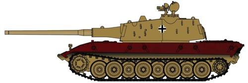 E-100 Henschell Turret
