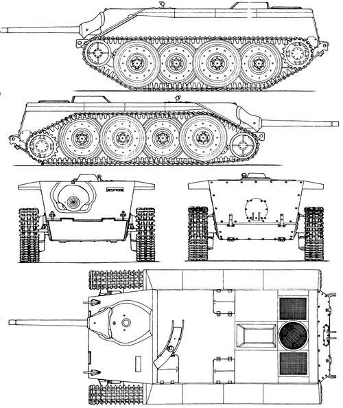 E-10 Jagtpanzer Hetzer