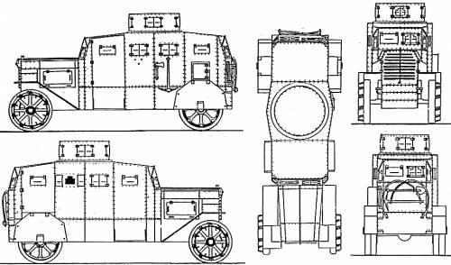 Erhardt Panzerwagen (1917)