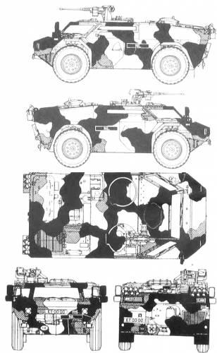 Fennek Scout car