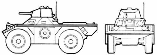 Ferret Light Scout Car