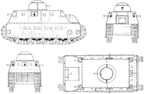 Fiat 2000 1917