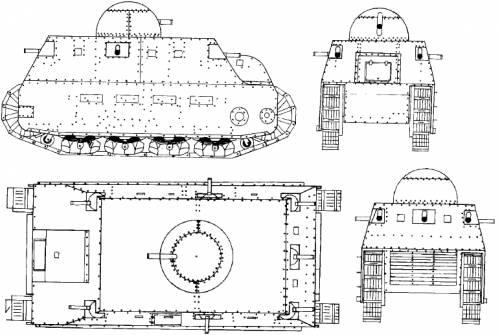 FIAT 2000 WWI