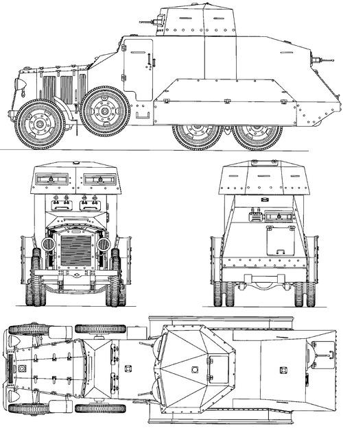 Fiat 611 Armoured Car