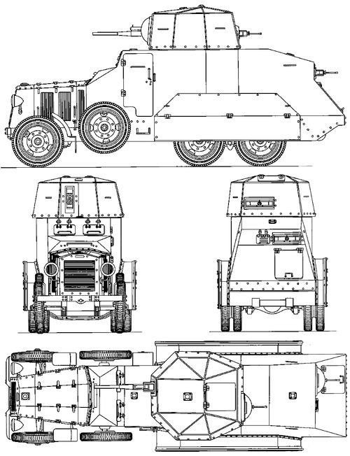 Fiat 611C Armoured Car