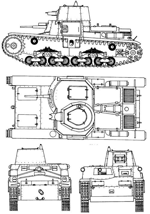Fiat-Ansaldo Carro Armato M11-39