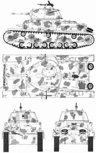 Fiat Ansaldo M13-40