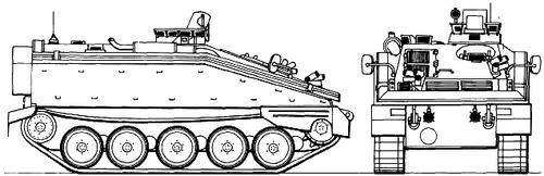 FV103 Spartan APC