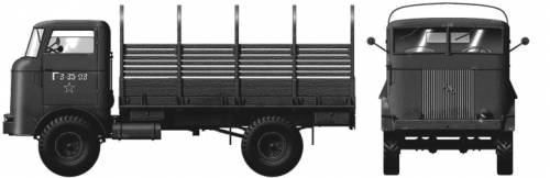 FWD SU-COE 5-ton 4x4