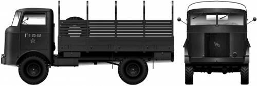FWD SU-COE 6-ton 4x4 (1944)