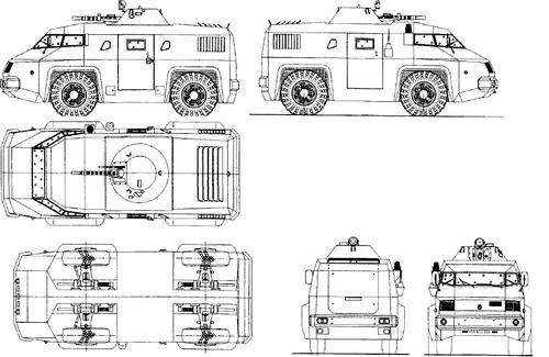 GAZ-3934 Siam