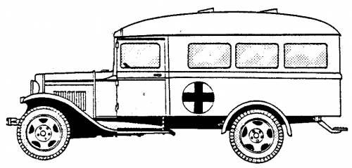 GAZ MM Ambulance