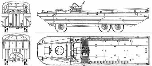 GM DUKW 2.5 ton Amphibious Truck