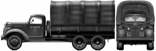 GMC ACKWX-353 3-ton 6x6 (1940)