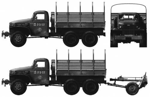 GMC CCKW-352 2.5-ton 6x6