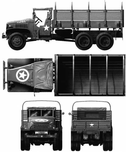GMC CCKW-353 2.5-ton 6x6