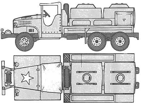 GMC CCKW-353 Gasoline Tanker