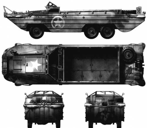 GMC DUKW-353 6x6 2.5-ton Amphibian