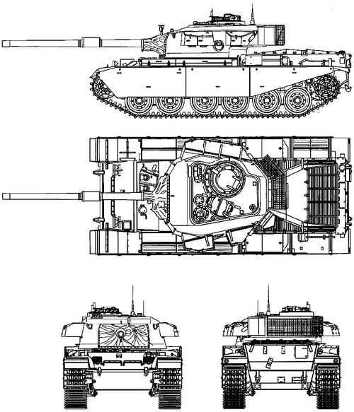 IDF Centurion Mk.5 Shot Kal (1973)