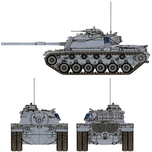 IDF M48 Patton Magach 3