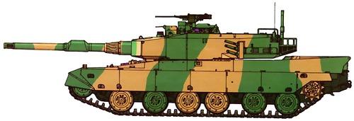 JGDF Type 90 Mitsubishi
