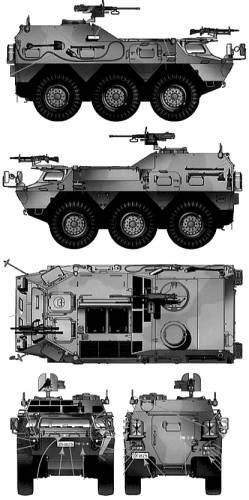 JGSDF Type 82 Command and Communications Vehicle