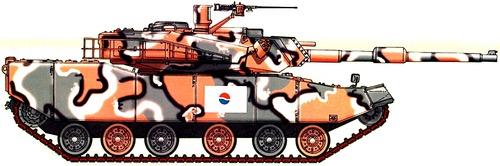 K1 Rokit (Hyundai Type 88)