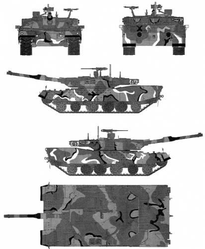 K1A1 (MBT ROK)
